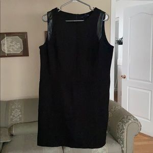 WILLI SMITH dress size 14 faux leather detailing